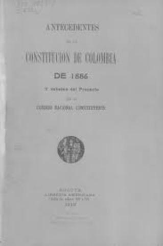 CONSTITUCION 1886