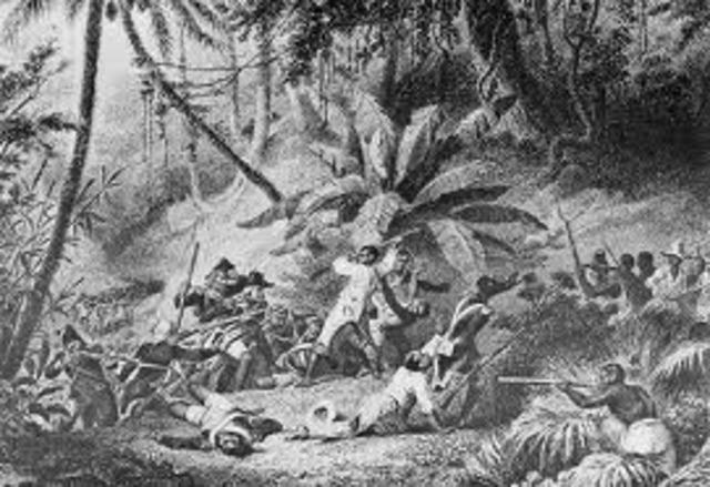 Guerra de independencia en Haiti