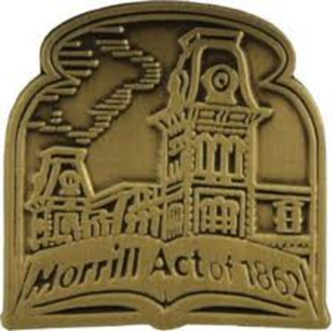 Morrill Act provides public land for higher education