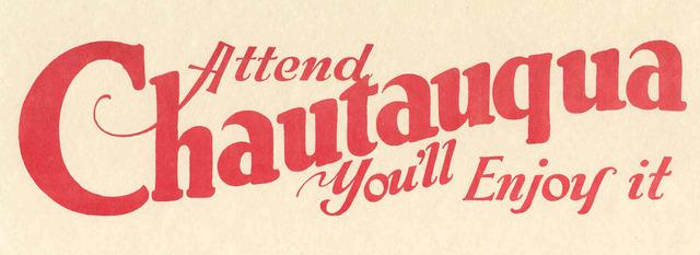 Chautauqua education movement launched