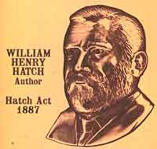 Hatch Act supplements Morrill Act