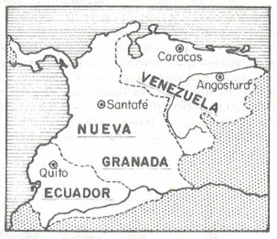 Desintegración de la Gran Colombia