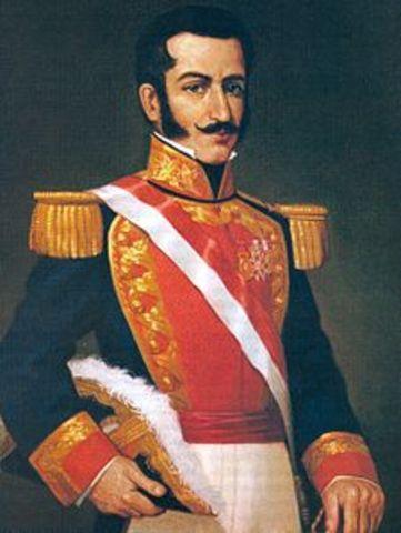 Salaverry se autoproclamó Jefe Supremo de la República