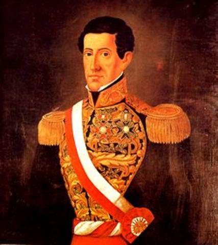 Gamarra cruzó la frontera peruano-boliviana