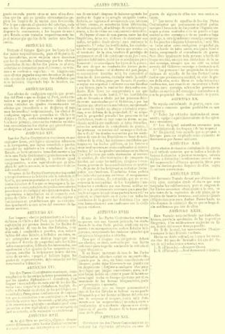 Se firmó en Lima el Tratado de Paz, Amistad, Comercio y Navegación Peruano – Brasileño