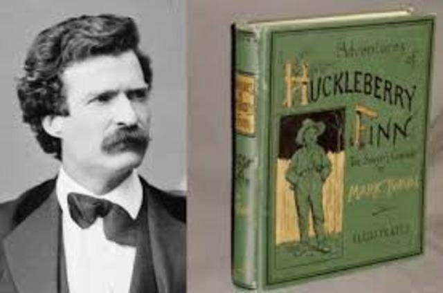 Mark Twain publishes The Adventures ofHuckleberry Finn