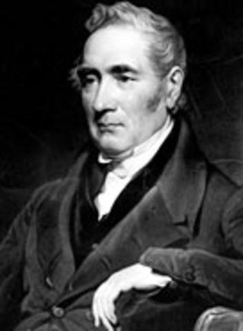 George Stephenson builds passenger railway
