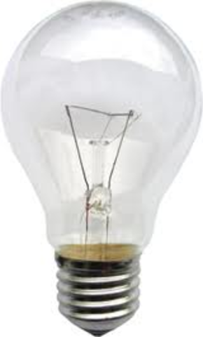 light bulb is invented