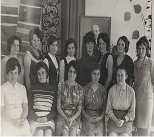 Коллектив конца 60-х