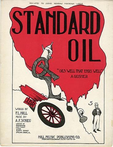 Standard Oil Company Organized