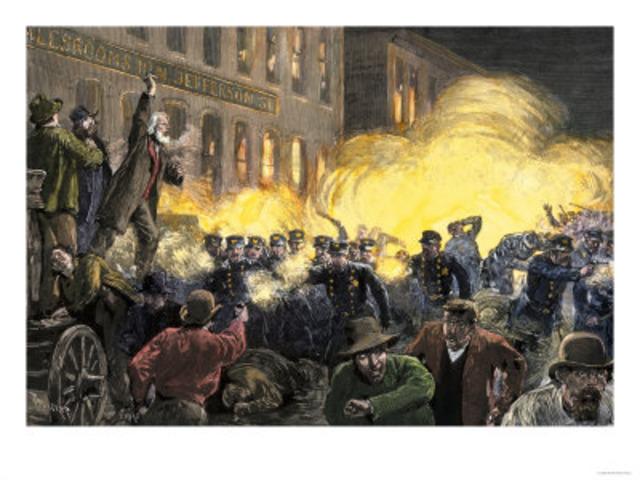 Haymarket Square Bombing