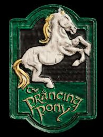 Book: 1 Chapters: 9-10 The hobbits ride to Bree and stay at the Prancing Pony