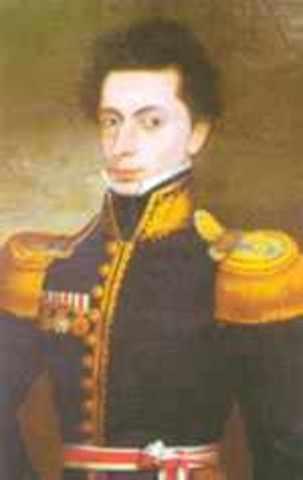 Proclamacion de Pedro Bermudez como Jefe Supremo