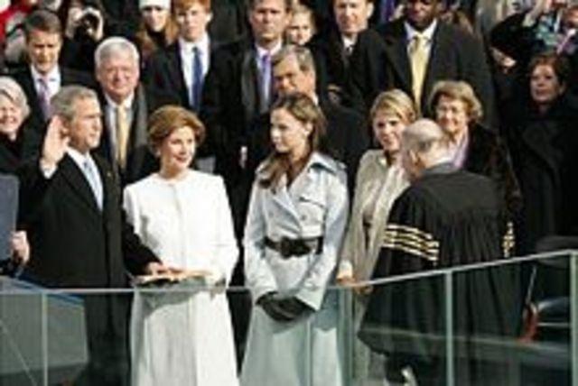 George W. Bush Second Inauguration
