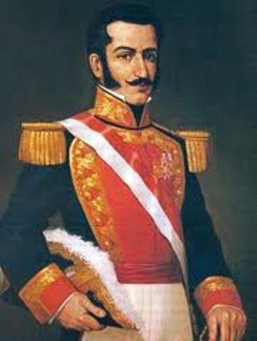 Salaverry se autoproclama jefe supremo de la república