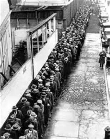 THe Great Depression Starts