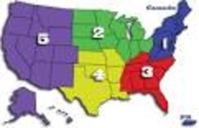 5 regions