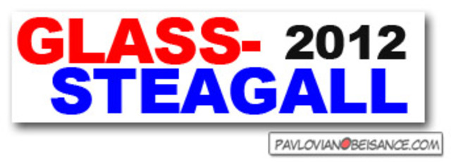 Removing Glass Steagall Act