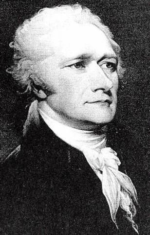 Hamilton proposed a national bank