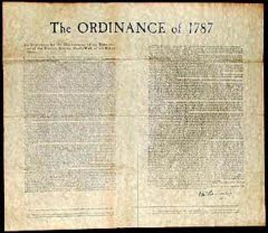 The Ordinance of 1787