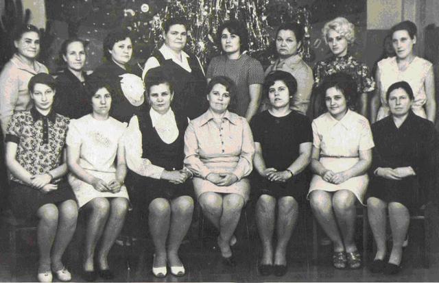 Фото сотрудников работавших под руководством Тименовской П.В.