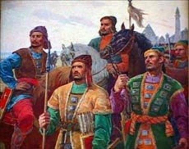 Приход булгарских племен на Волгу