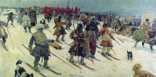 Поход русских войск на Казань и другие города Волжской Булгарии