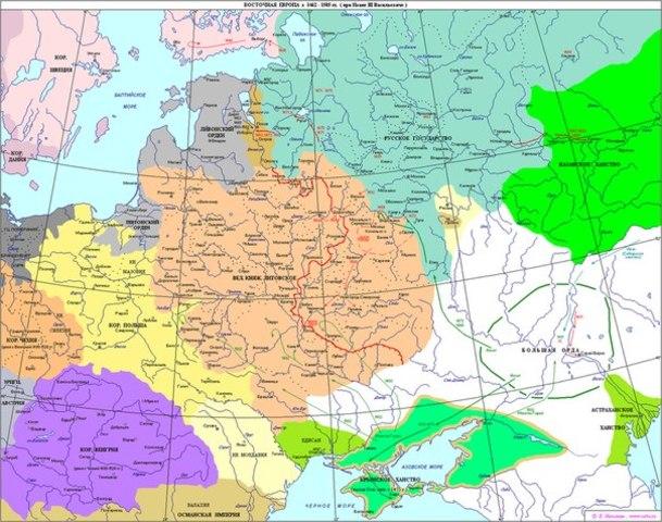 Казань становится столицей Казанского ханства.