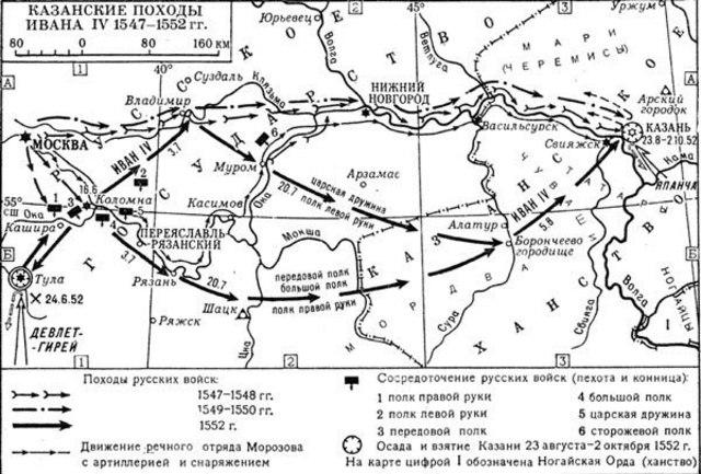 Поход казанских войск на Вятку
