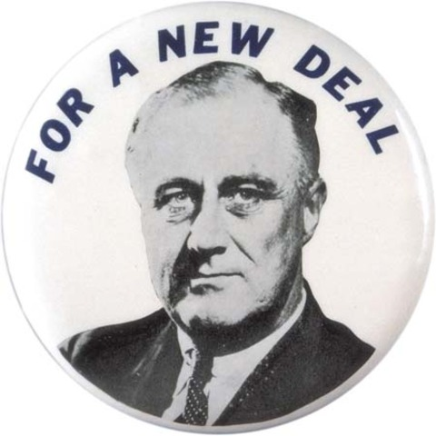 New Deal introduced by FDR