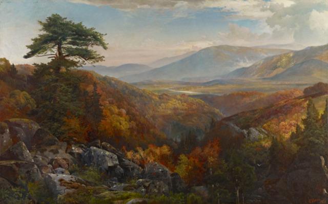 Valley of the Catawissa in Autumn