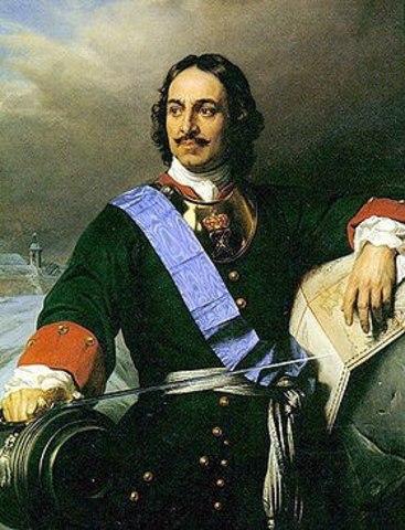 Приезд Петра I в Казань