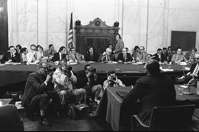 Nixon Watergate hearing
