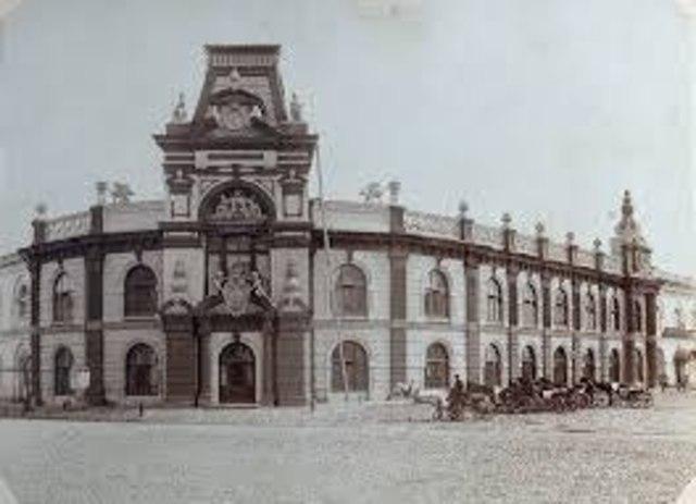 Строительство Гостинного двора