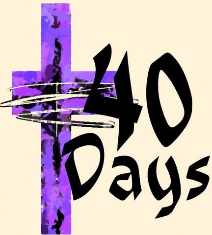 40 Days of Lent Challenge