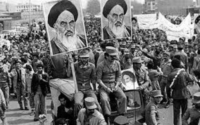 Iranian revolution & hostage crisis