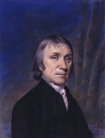 Joseph Priestley separates oxygen from the Air