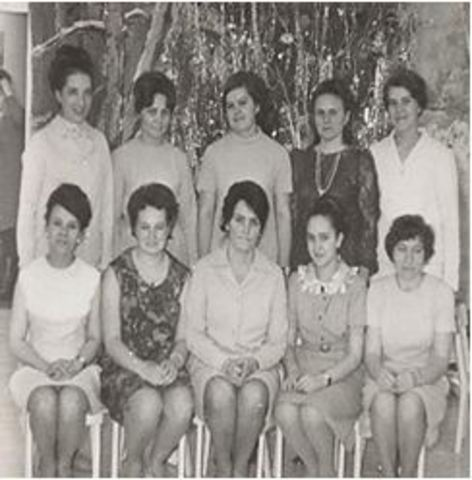 "Коллектив ""Ветерка"" 60-ые годы"