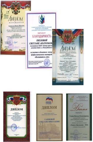 Достижения коллектива 1998-2002 годы