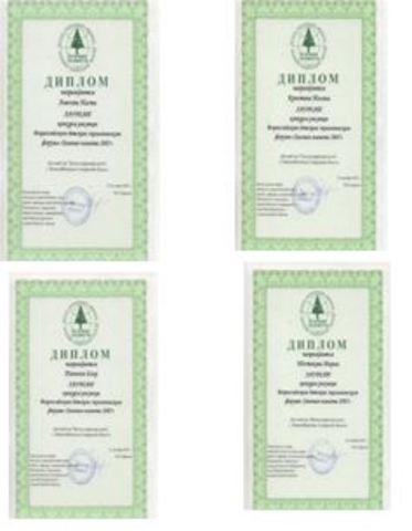 Достижения воспитанников (2007-2008)