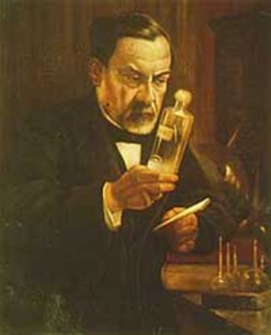 Pasteur discovered germs caused infections