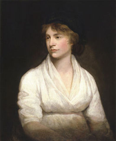 Mary Wollstonecraft is born