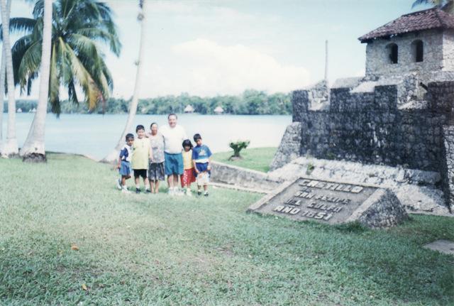 Viaje con mis Abuelos y primos