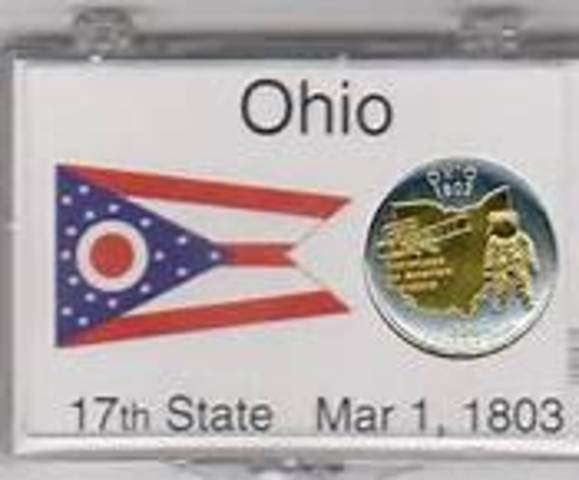 Ohio becomes a state