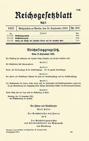 Nuremberg Decress