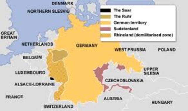 Germany Reoccupied the Rhineland