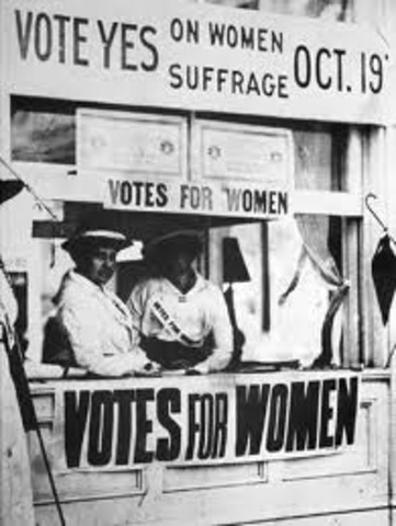 Women Allowed to Vote