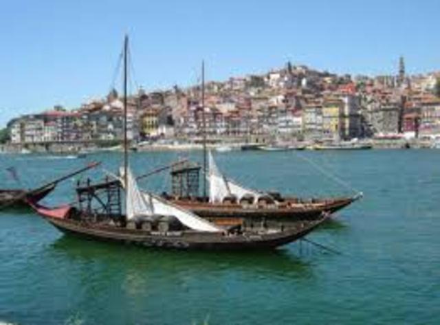 Partida de D. Pedro, do Porto, para Lisboa, por mar