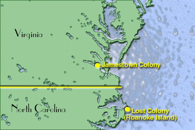 Sir Walter Raleigh founded Roanoke Colony