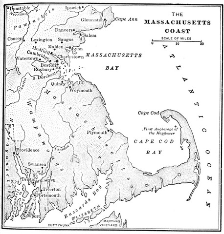 Massachusettes Bay Colony is Founded